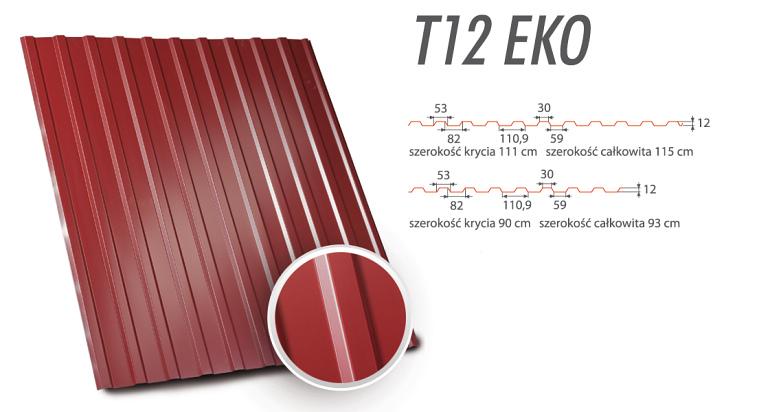 Blachy Trapezowe - T12 EKO
