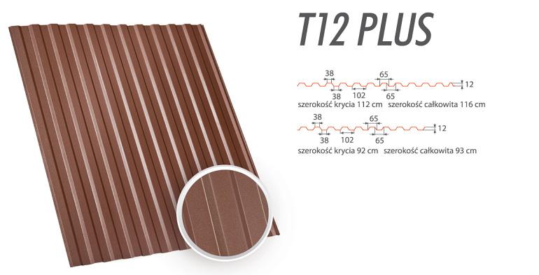 Blachy Trapezowe - T12 Plus