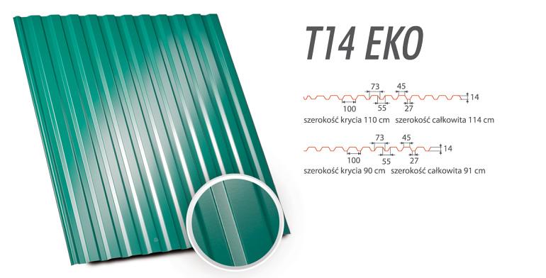 Blachy Trapezowe - T14 EKO