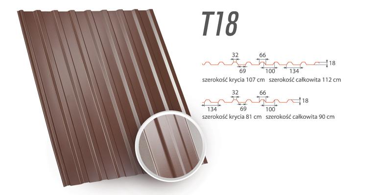 Blachy Trapezowe - T18