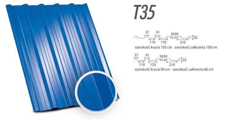 Blachy Trapezowe - T35
