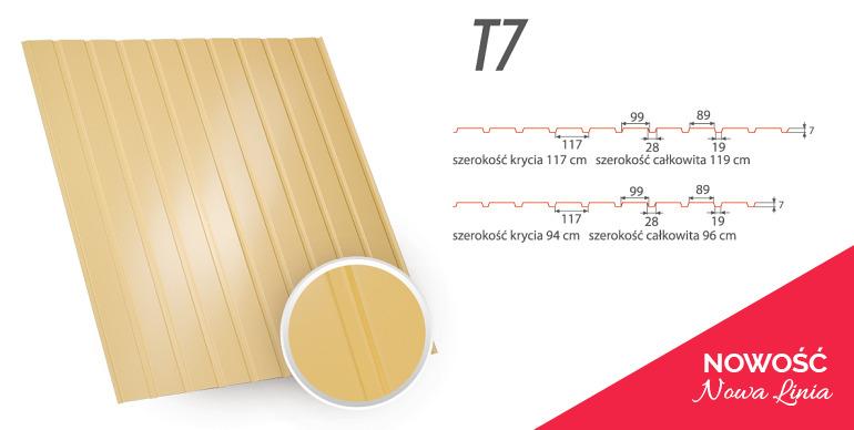 Blacha Trapezowa - T7