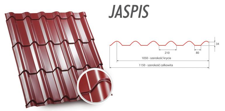 Blachodachówki Jaspis